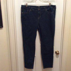 Torrid Jeans 22R Blue Dark Wash Slim Leg Stretch